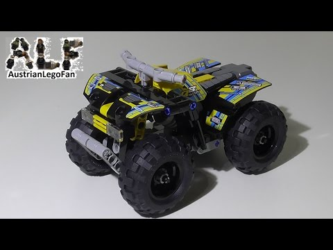 Vidéo LEGO Technic 42034 : Le quad