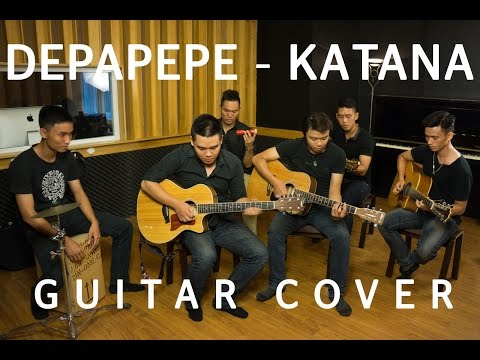 [GUITAR COVER] Katana (Depapepe) - Cacbonic Band. Mp3
