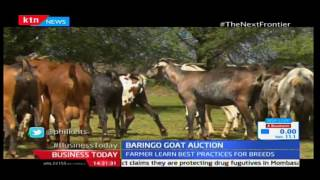 KTN Business Today 19th December 2016 - The Next Frontier - Baringo County Goat Action Market