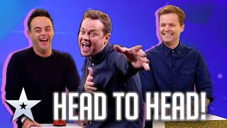 Ant & Dec go head to head at Catchphrase | Britain's Got More Talent