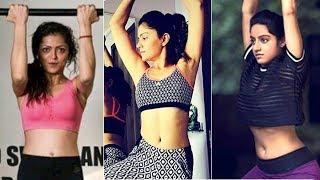 TV Actresses HOT GYM WORKOUT | Drashti Dhami | Rubina Dilaik| Deepika Singh | Hina Khan
