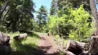 Clips of a recent ride along the Rim.