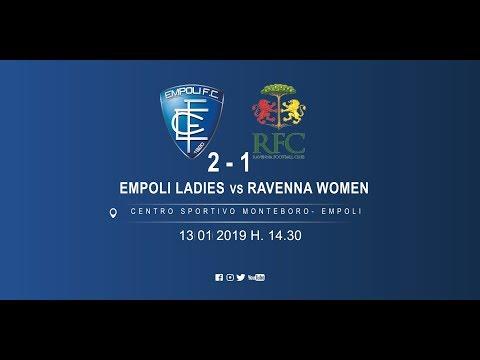 Preview video Gli highlights di Empoli Ladies - Ravenna Women