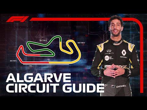 ダニエル・リカルドがF1 ポルトガルGPで走るアウトードロモ・インテルナシオナル・ド・アルガルヴェのコースを紹介する動画