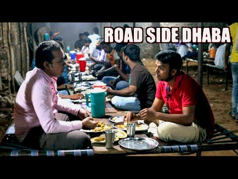 Download Pure Veg Roadside Family Dhaba in Hyderabad | Punjabi Food | Dhaba with Cots Mp4 HD Video and MP3