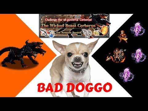 ( FFBE ) Final Fantasy Brave Exvius : The Wicked Beast Cerberus