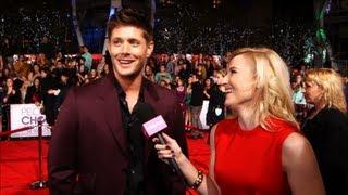 Jensen sur le tapis rouge des PCA 2013