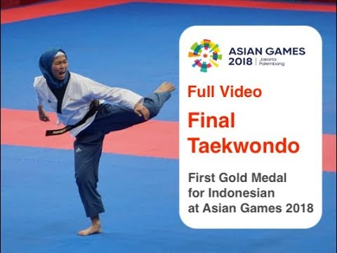 Full Video - Defia Rosmaniar, First Indonesian Gold Medal at Asian Games 2018