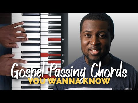 Gospel Passing Chords #1 | Diminished to Minor
