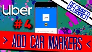 UBER Clone #4 | Add CAR Markers to Map | + Beginner Friendly +