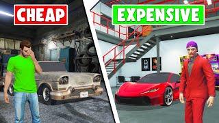 Build The MOST EXPENSIVE Auto Shop Challenge! (GTA 5 DLC)