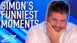 When Simon Cowell Can't Stop LAUGHING | X Factor Global