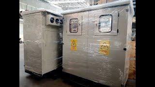 Tủ Điện Hạ Thế 2 Ngăn: Tủ ACB 2000A + Tủ Tụ Bù 3 Pha 500kVAR