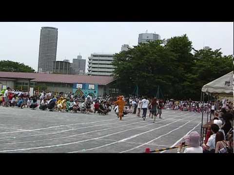 2010年度、平間小学校運動会、PTA仮装対抗リレー
