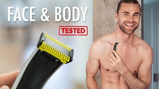 Philips Oneblade Face & Body Test