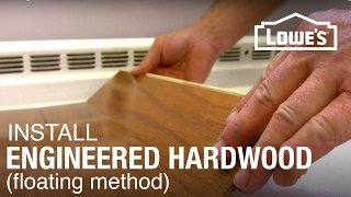 Engineered Hardwood Floor Installation: Part 1