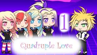 (Discontinued)【Gachaverse】Quadruple Love   Zoe's Crush [Part 1]