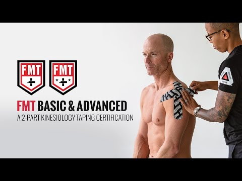 FMT Basic & Advanced Kinesiology Taping: What to Expect - YouTube