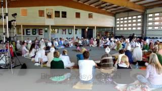 Beautiful Gayatri Mantra Chanting on Peace Prayer Day of Kundalini Yoga Festival in Germany, May 201