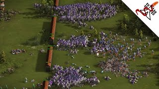 Cossacks 3 - 3v3 HOLD THE FORTRESS   Multiplayer Gameplay