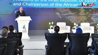 أبرز تصريحات الرئيس السيسي خلال منتدى أسوان اليوم