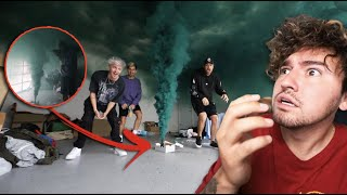 We Lit A Smoke Bomb In Our House... (BAD IDEA)