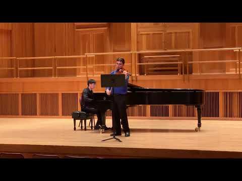 J. Brahms: Viola Sonata No. 1 in F Minor Mvt 1