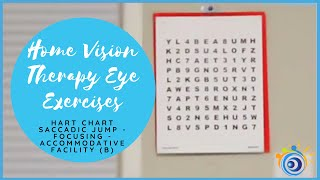 2. How to Train Your Eyes to Strengthen Your Focus using the Hart Chart