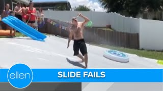 Slip & Slide Into These Super Fails