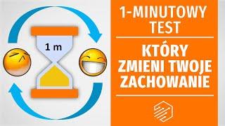 1-minutowy test, który zmieni Twoje zachowanie (udowodniona naukowo!)(manipulacja)