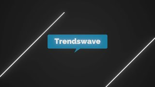 Diagonal Logo Stinger trendswave