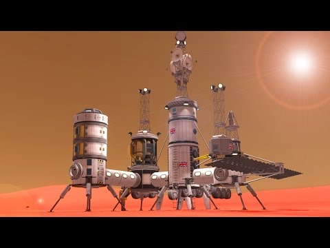 Best way to build a stock base? :: Kerbal Space Program