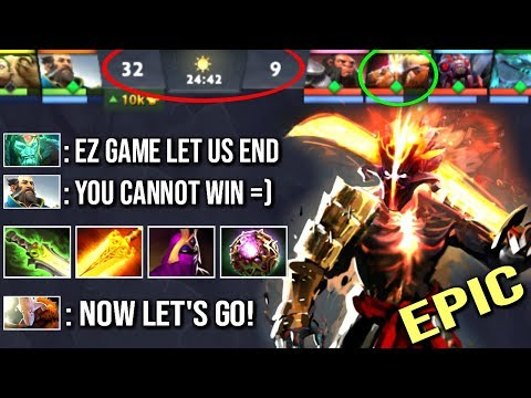UNREAL Pro Magic Juggernaut IMPOSSIBLE Epic +65% Blade Fury Most Craziest Comeback WTF Dota 2