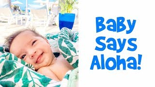 Baby Says Aloha! - Ballinger Family Goes to Hawaii Day 3
