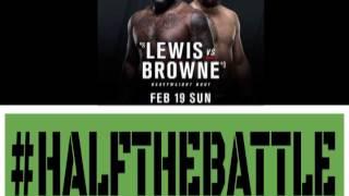 UFC Halifax: Derrick Lewis vs Travis Browne Edition of Half The Battle