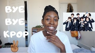 WHY I STOPPED LISTENING TO KPOP