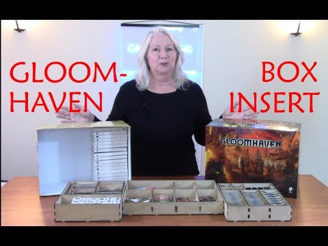 A Step by Step Process for Designing a Game Box Insert Using Gloomhaven as an Example