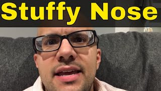 How To Clear A Stuffy Nose In Less Than 30 Seconds