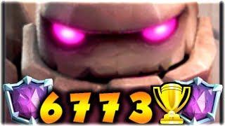 ¡EL MAZO DE GOLEM DE 6773 COPAS! ¿SIGUE ESTANDO OP? - Clash Royale [XHEO]