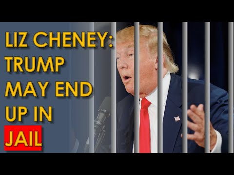 Liz Cheney says Trump Should go to JAIL in Fox News Chris Wallace Interview