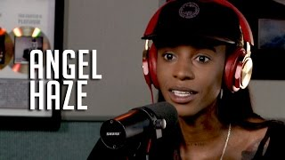 <b>Angel Haze</b> Talks Her Love Of Tts Growing Up In A Cult + Why Her Mom Doesn't Have Her Phone