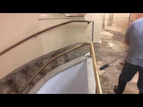 Así estaba el hospital de Toledo tras la tormenta
