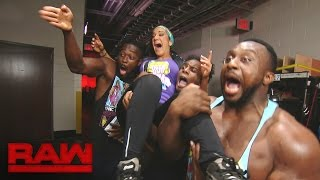 Bayley encounters The New Day: Raw, Aug. 29, 2016