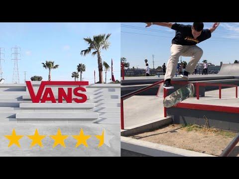 The BEST Skatepark In Cali! (Vans Huntington Beach)