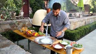 Michael Chiarello loves this wood-fired pizza oven