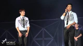 140815 TVXQ(DBSK/동방신기) SMTOWN - changmin's something dance