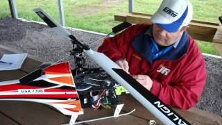 Ken Jennings  RC Helicopter Speed World record attempt