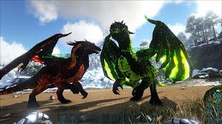 ARK: Survival Evolved - Dùng 10 con khủng long Alpha T-Rex, cân cả thế giới luôn =))