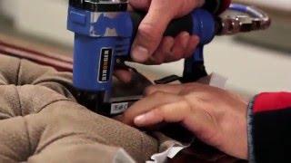 """Перетяжка и ремонт мягкой мебели от компании Мебельное ателье """"Константа"""" - видео 1"""