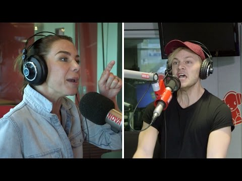 Kate Ritchie takes on Joel Creasey for Quick Draw: REDEMPTION!